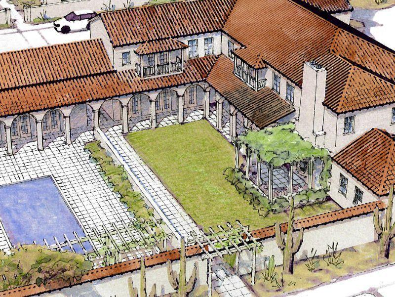 Luna Azul Ross Chapin Architects Pocket Neighborhood The Neighbourhood Site Plan