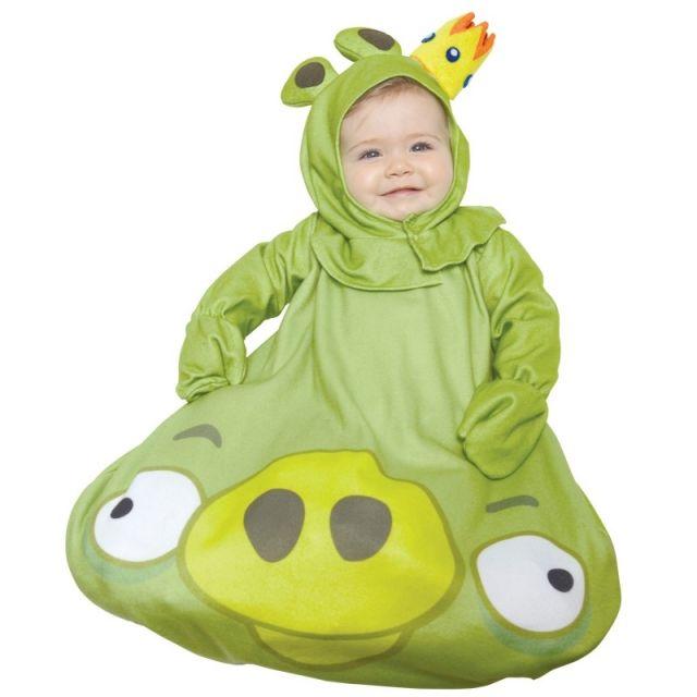 Faschingskostüme-für Babys-trends 2014 Rovio Angry-king-pig