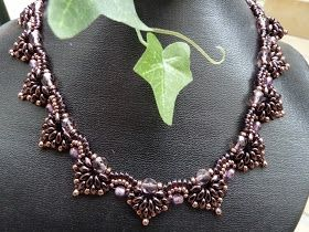 Silkes Perlendesign: Spades Collier von Smadars Treasure