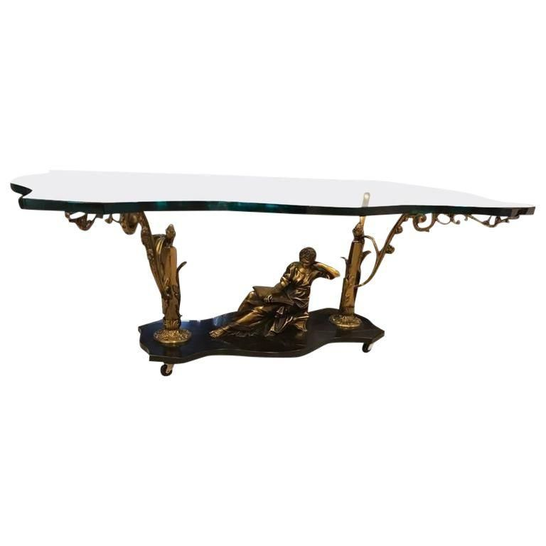 French Art Nouveau Or Art Deco Coffee Table Art Deco Coffee