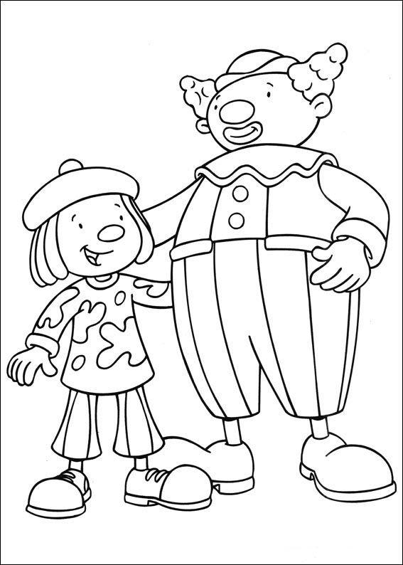 clifford at the circus coloring pages | Dibujos para Colorear Jo Jo's Circus 8 | Tegninger ...