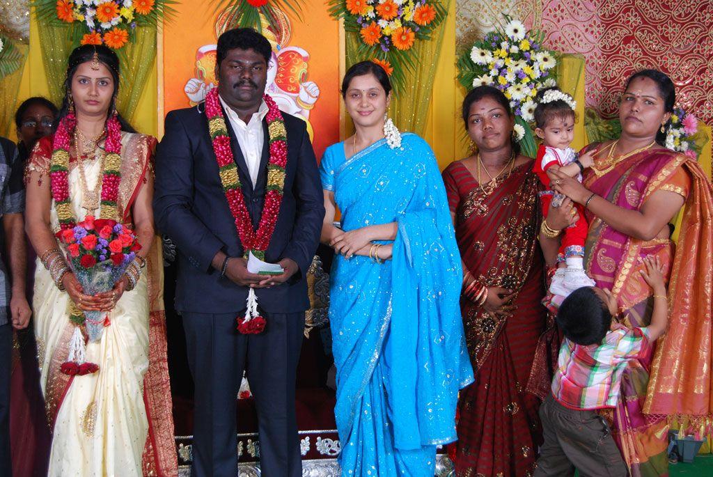 Tamil Comedy Actor Kottai Perumal Son Wedding Reception