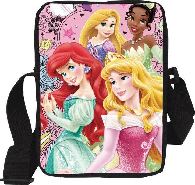 Boys Girls Kids Character Messenger Shoulder School Bag Book Cross Body Bag Pack