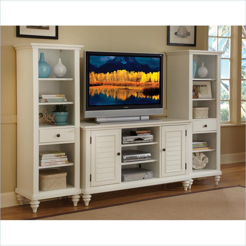 Nothing Found For Home Style 5543 34 Bermuda 3 Piece Entertainment Center Brushed White Finish