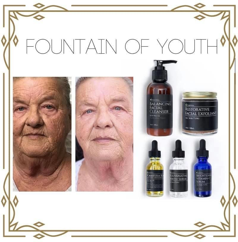 Pomifera Fountain Of Youth Facial Exfoliator Social Media Challenges Facial Cleanser