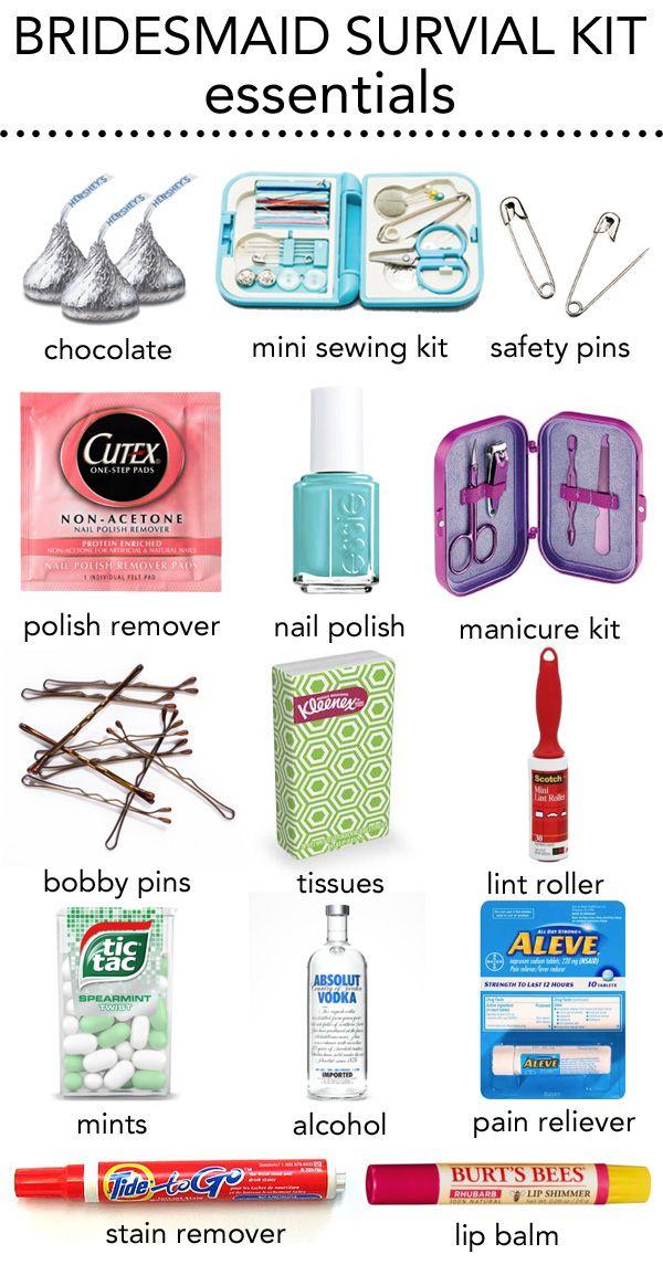 Bridesmaid Survival Kit In A Jar Bridesmaid Survival Kit Wedding Survival Kits Gifts For Wedding Party
