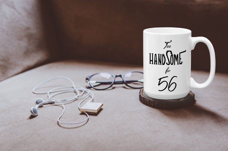 56th birthday mug for hubby unique bday gifts for best