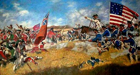 Patriot Forces Defeat The British In The Battle Of Kings Mountain