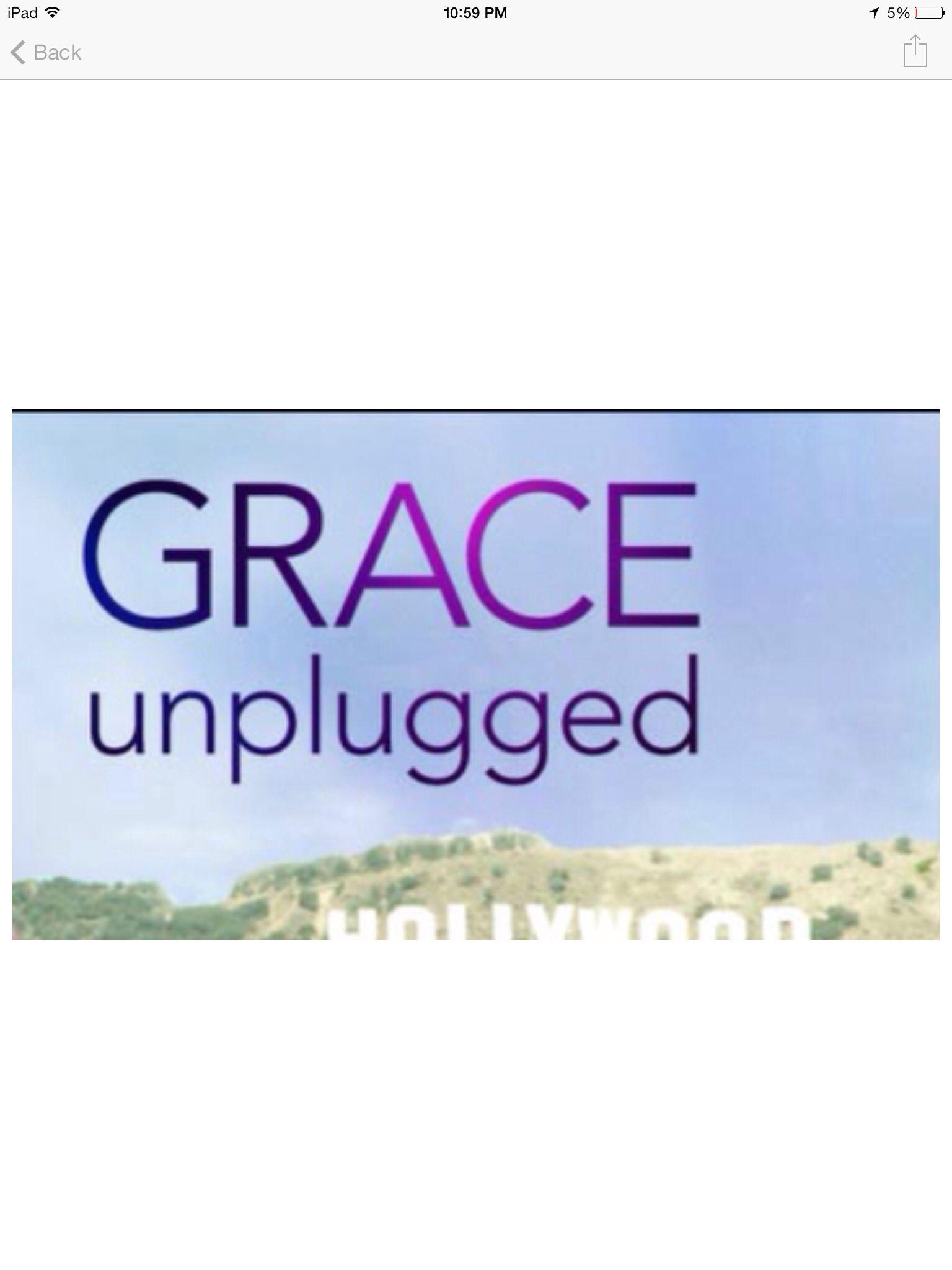 Unplugged...