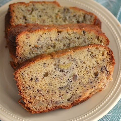 Banana Bread Made with Sour Cream