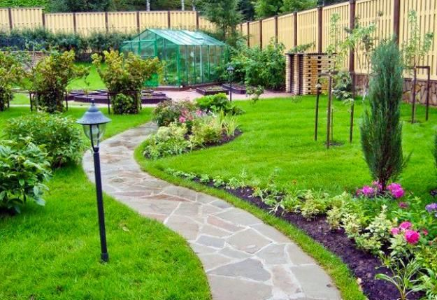 25 Yard Landscaping Ideas, Curvy Garden Path Designs to Feng Shui ...
