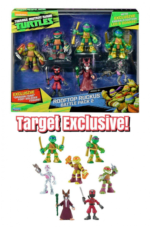 Playmates Teenage Mutant Ninja Turtles TMNT Rooftop Ruckus Pack 2 MICHELANGELO