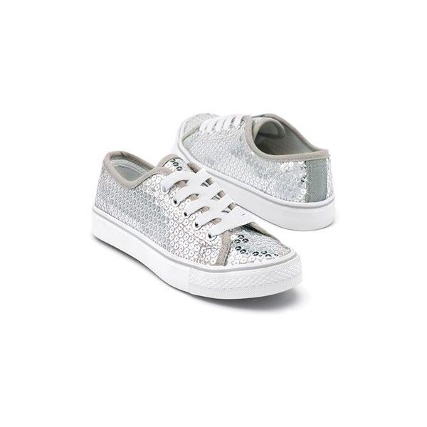 Sequin Low Top Dance Sneakers | Balera™ ($25) ❤ liked on Polyvore featuring shoes, sneakers, low profile shoes, low top, sequin sneakers, low top sneakers and low top shoes