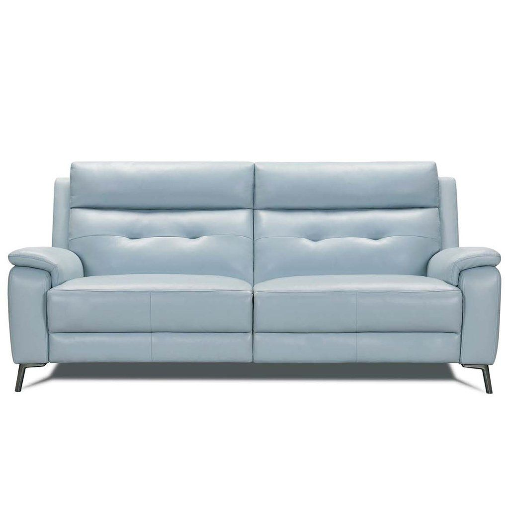 Saxton Sofa Electric Recliner In Leather Or Fabric Living Room Recliner Electric Recliners Sofa