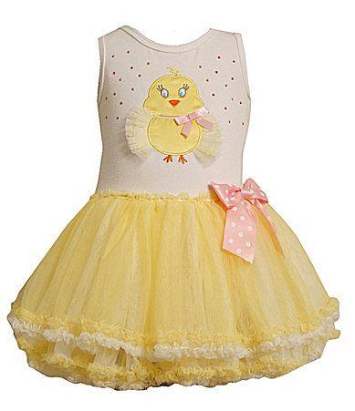 adcdb958b3a Bonnie Jean 2T6X Easter Chick Tutu Dress  Dillards
