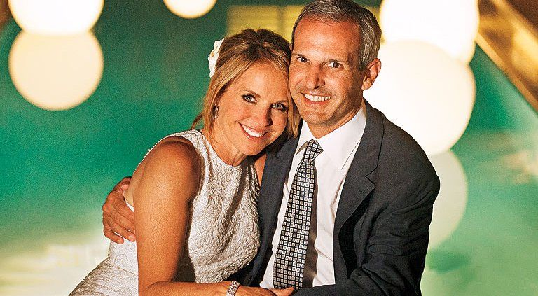 Katie couric dating violence