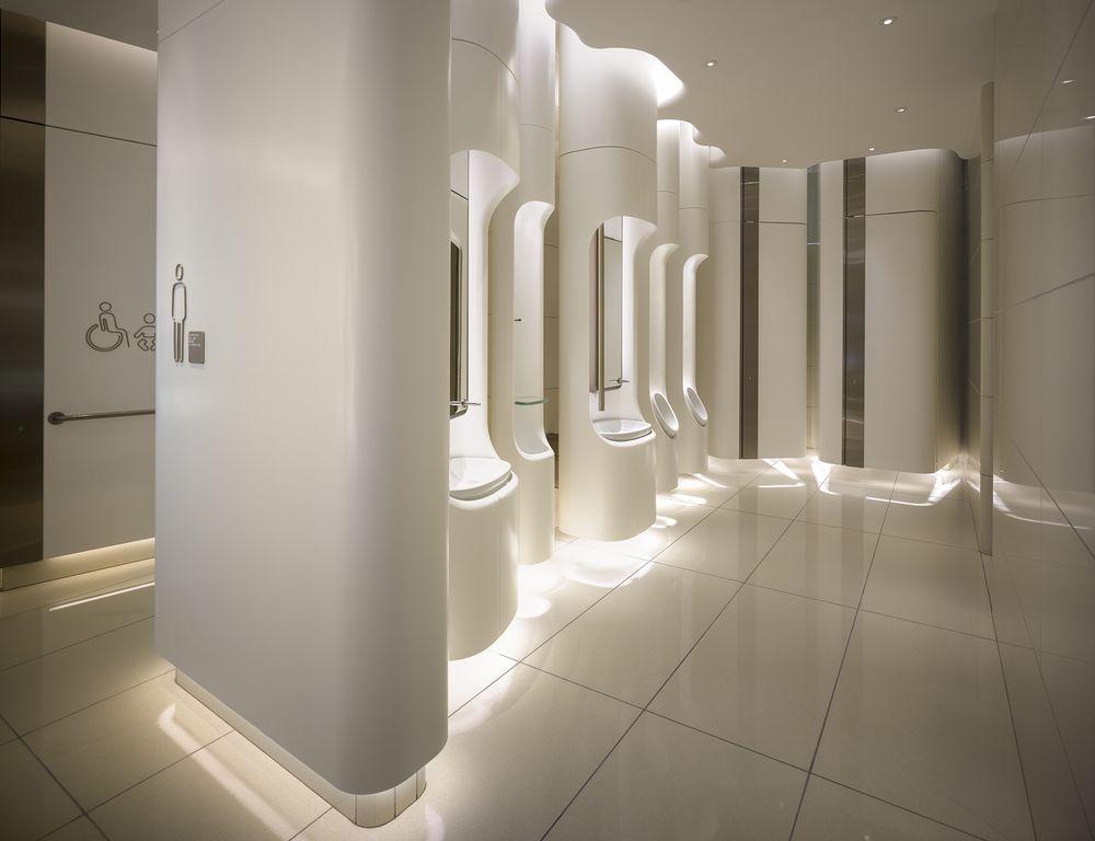 Heatherwick pacificplace 2013 bathroom for Bathroom design awards 2013