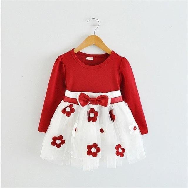 Blumen Baby Kleid #blumen #kleid   Mädchen kleidung ...