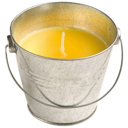 84606 Perfumed candle set in bucket