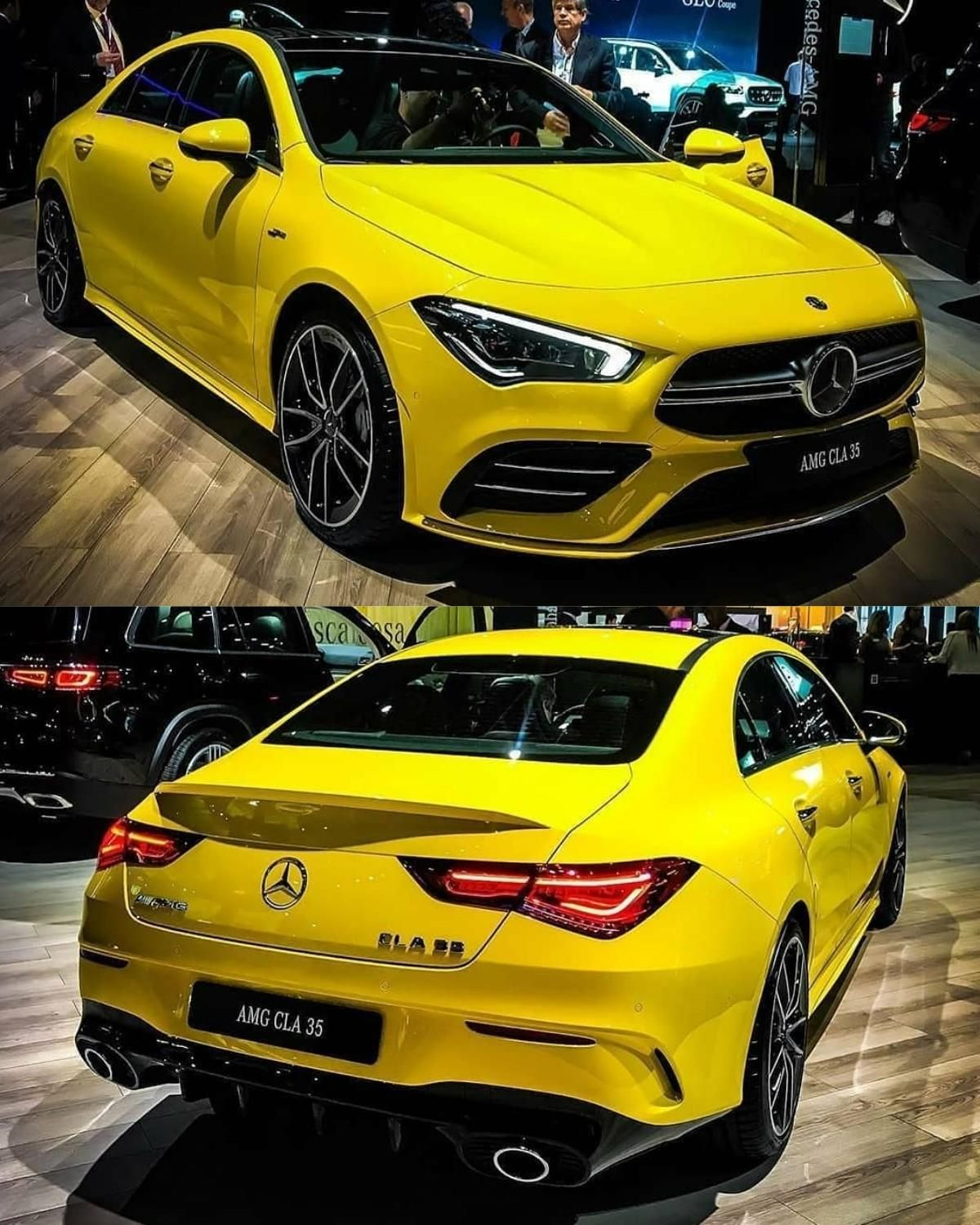 The All New Cla 35 Amg Coupe 4matic With Images Mercedes