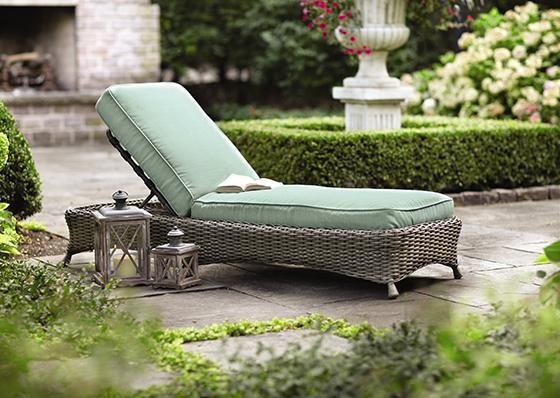 Martha Stewart Living™ Lake Adela Replacement Cushions ... on Martha Stewart Living Chaise Lounge id=19816