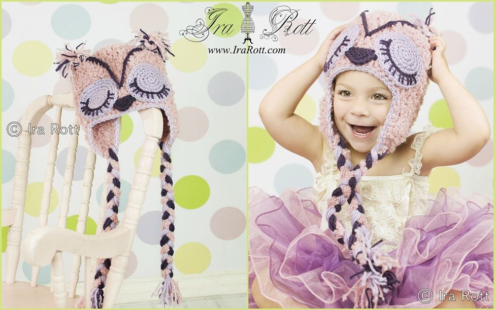 Handmade Crocheted Owl Hat for Adults, Teens, Kids and Babies ...