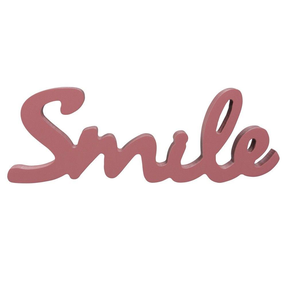 Mot déco bordeaux L20 SMILE | Maisons du Monde | Inspiration déco ...