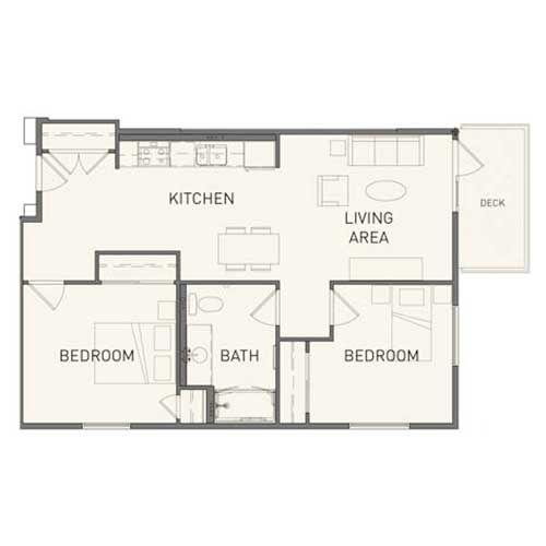 Studio, 1 and 2 Bedroom Floor Plans Long Beach Senior Arts Colony