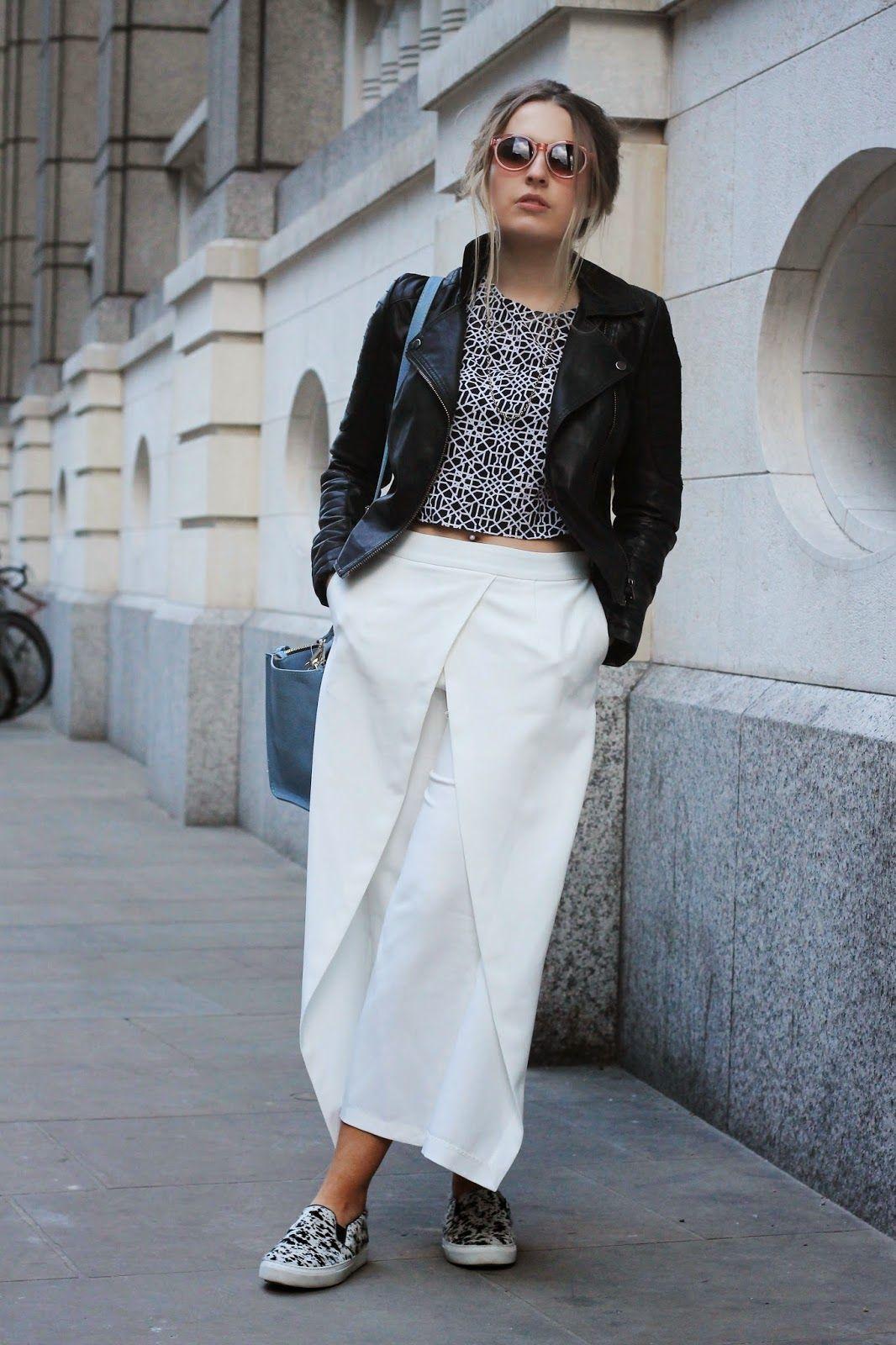 Fashion Fade Magazine Blogger Spotlight Style Confessional Slip On Sneakers White Midi