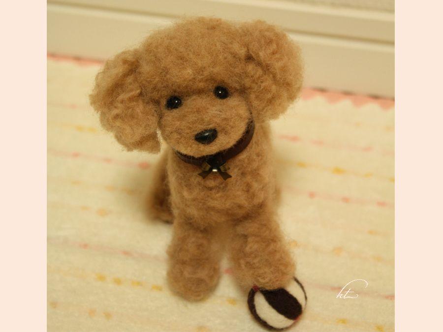 needle felted poodle | Crafts /DIY gifts | Pinterest | Poodle ...