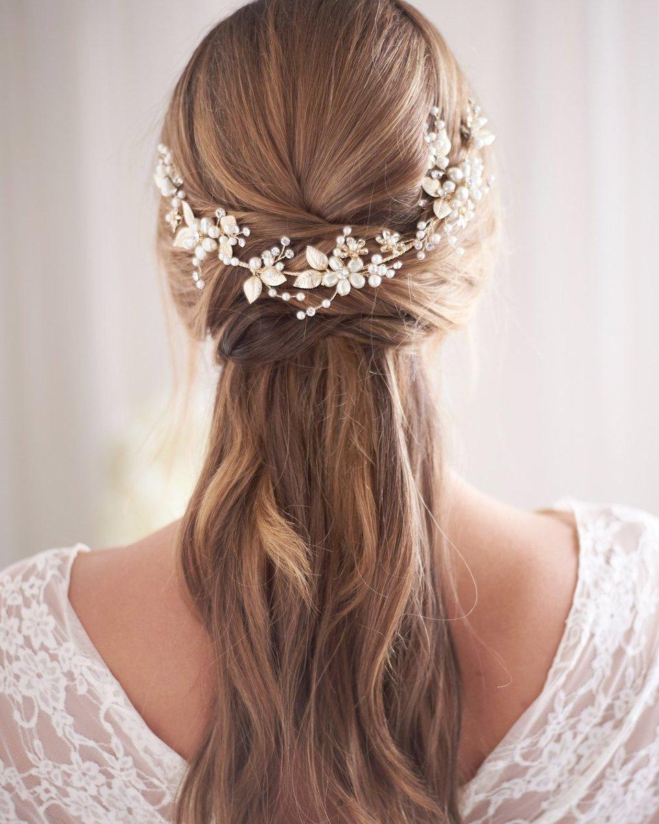 Freshwater pearls Hair Vine opal rhinestone Bridal  Hair Vine Bridal Hair Piece Wedding pearl hair vine bridal hair accessory