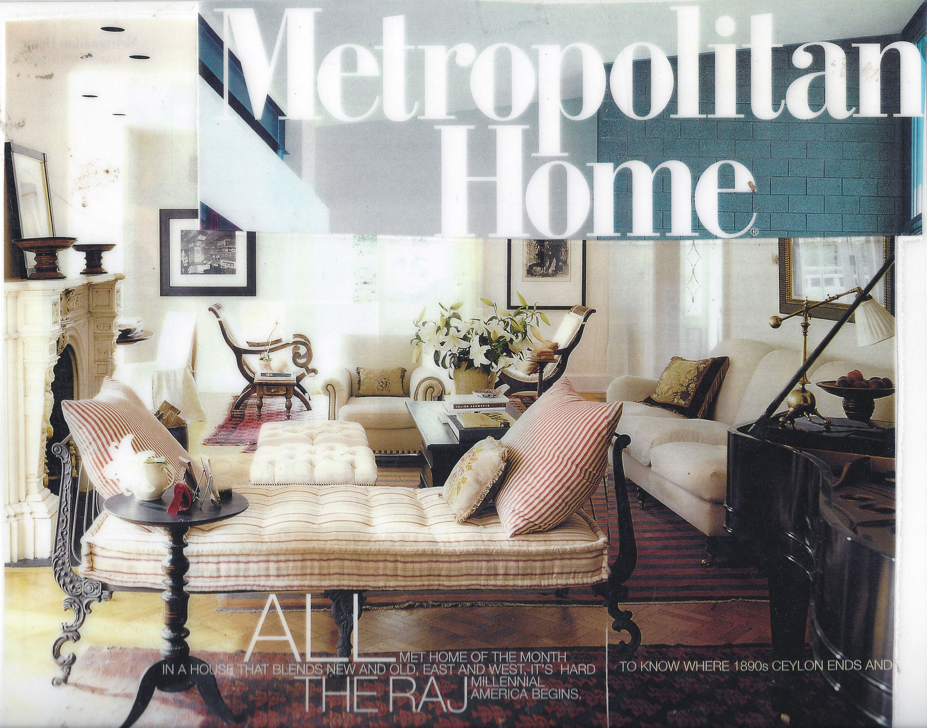 Metropolitan Home. Anglo Raj Antiques.