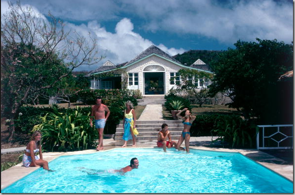 When Princess Margaret Turned Over Ownership Of Her Mustique Home Les Jolies Eaux To