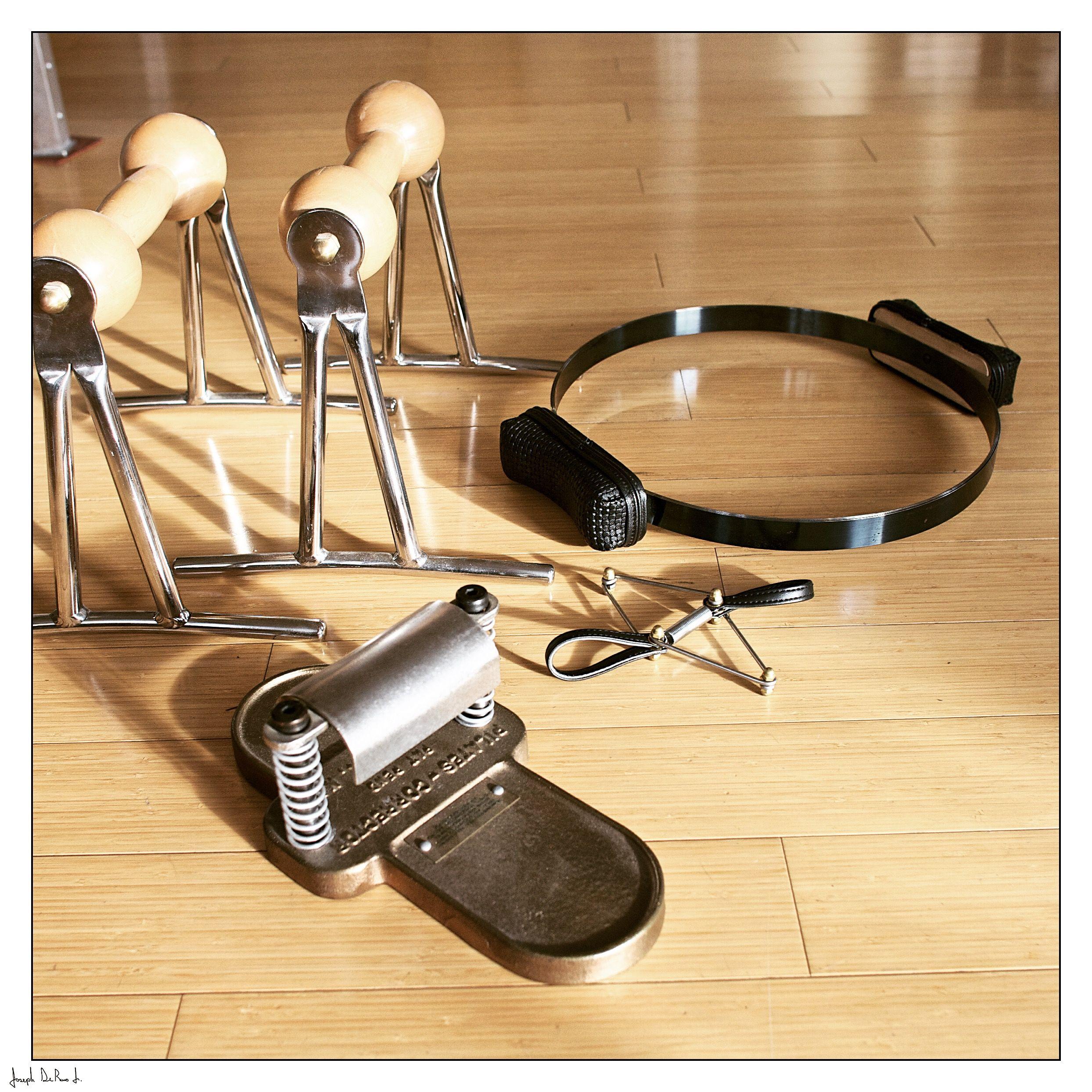 Balanced body pilates chair - The Small Apparatus By Gratz Pilates Push Up Bars Foot Corrector Toe Corrector