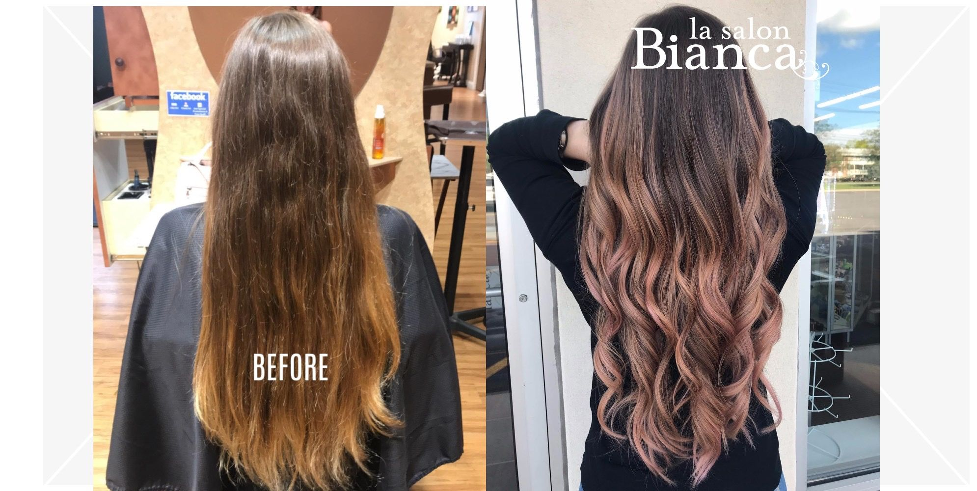 Rose Gold Perfection Best Salon Beauty Spa Hair Salon