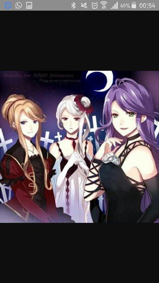 Beatrix Christa E Cordelia Anime Diabolik Lovers