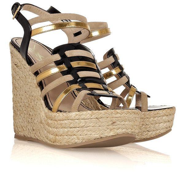 get to buy online latest sale online Yves Saint Laurent Multistrap Espadrille Sandals huge surprise cheap online HLeVK