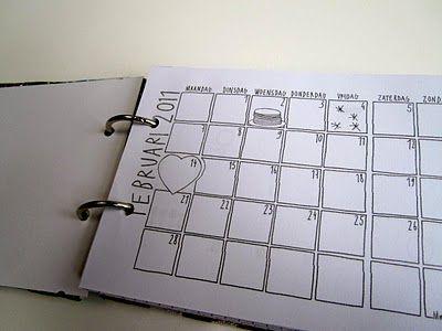 Mooi maandoverzicht op artikelen in te plannen