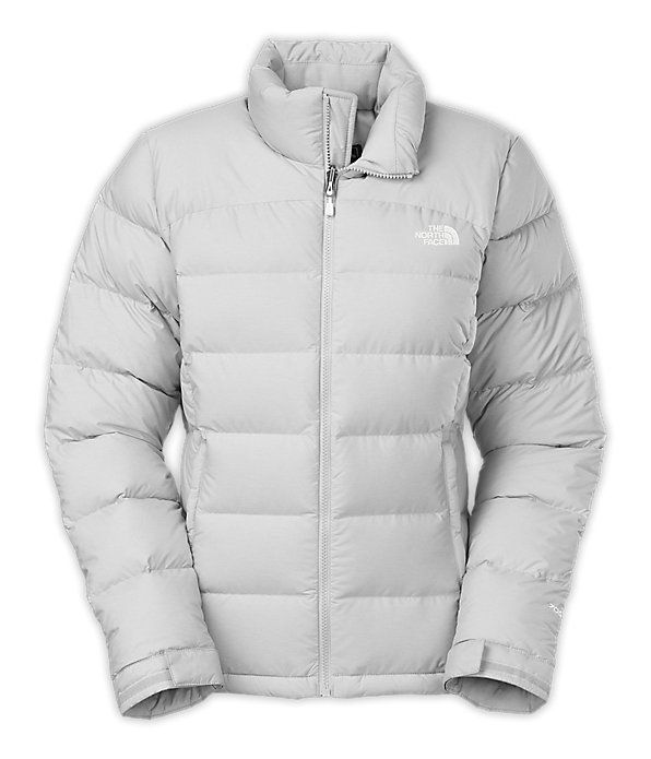 c988e43b2f The North Face Women s Jackets   Vests INSULATED GOOSE DOWN WOMEN S NUPTSE® 2  JACKET in High Rise Grey Heather
