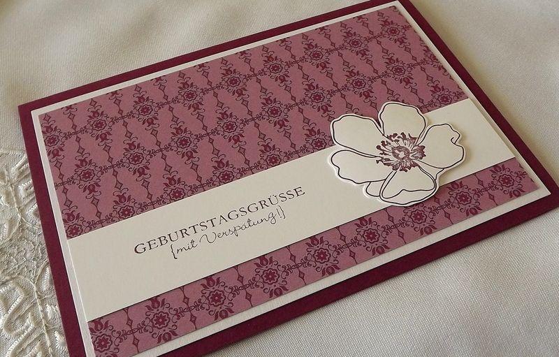 Geburtstagskarte von Liebe Grüsse auf DaWanda.com