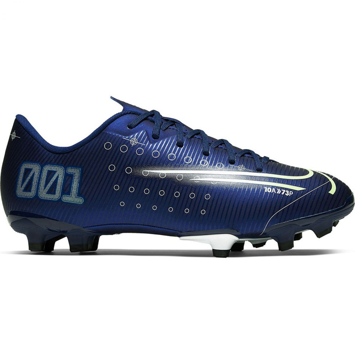 Buty Pilkarskie Nike Mercurial Vapor 13 Academy Mds Fg Mg Jr Cj0980 401 Granatowe Granatowe Nike Football Boots Kids Football Boots Football Boots