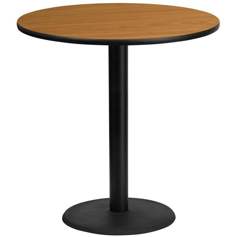 Round Bar Tables 24 Inch 30 Inch 36 Inch Or 42 Inch Tables Bar Height Table Laminate Table