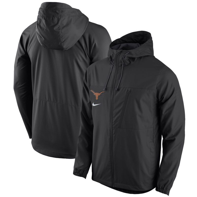 Texas Longhorns Nike AV15 Winger Full-Zip Jacket - Black