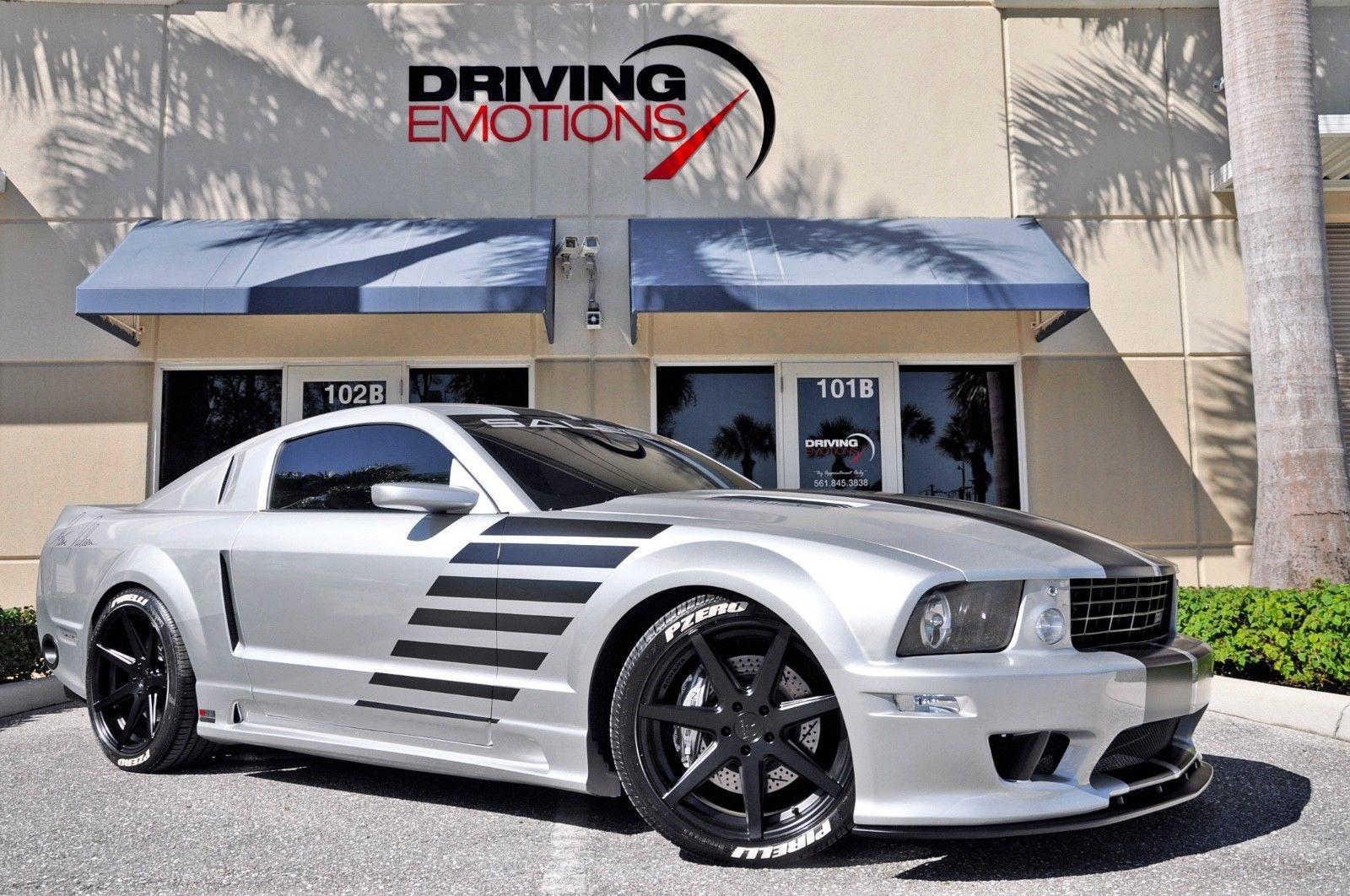 Ebay 2005 Ford Mustang Saleen S281 Sc 2005 Saleen Mustang S281 Sc