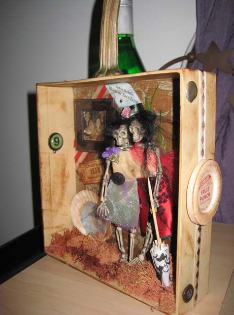 AlTerEd aRt HaTTiE and HaZeL CaRnIvALe by SauvageRavenCreation,  SOLD