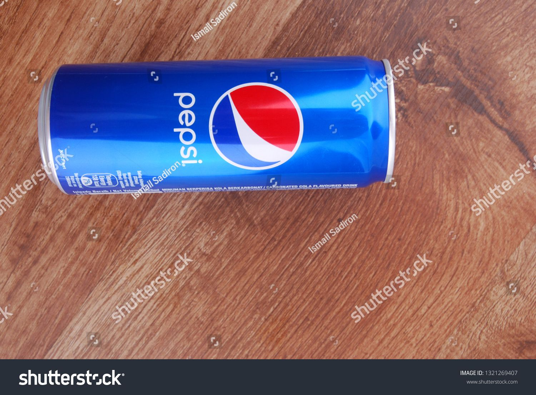 Kuala Lumpur, Malaysia - February 23, 2019  A can of Pepsi