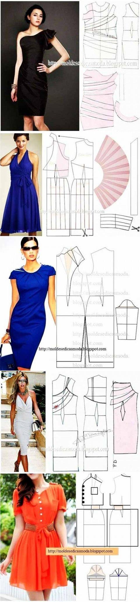 Рукоделие | corte | Costura, Coser ropa y Vestidos