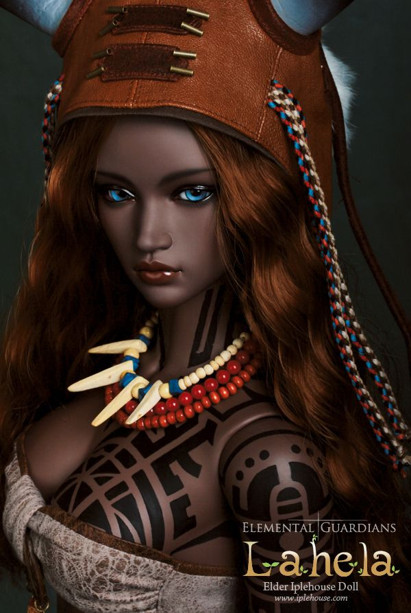 Iplehouse Lahela - I really wish they would offer her sculpt in their Custom Doll System or as a basic doll.