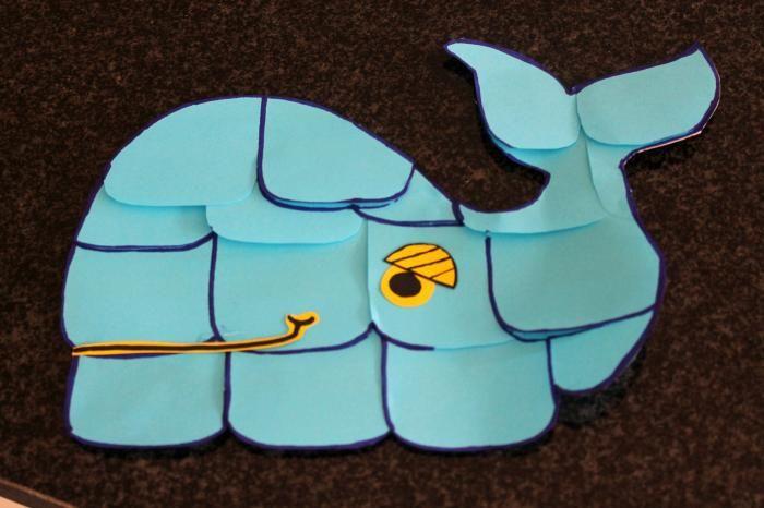 Kinderen - Dossier: Knutselen met Post-it Notes - Terug naar school met deze zelfgemaakte walvis uit Post-it® Notes - Libelle
