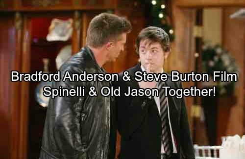 Spinelli Mobili ~ General hospital spoilers: spinelli and old jason together again